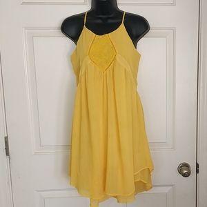 Ella Moss Yellow Dress